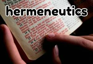 hermeneutics rules