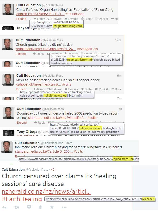 Rick Alan Ross Problems With Various Cult Experts Apologetics Index