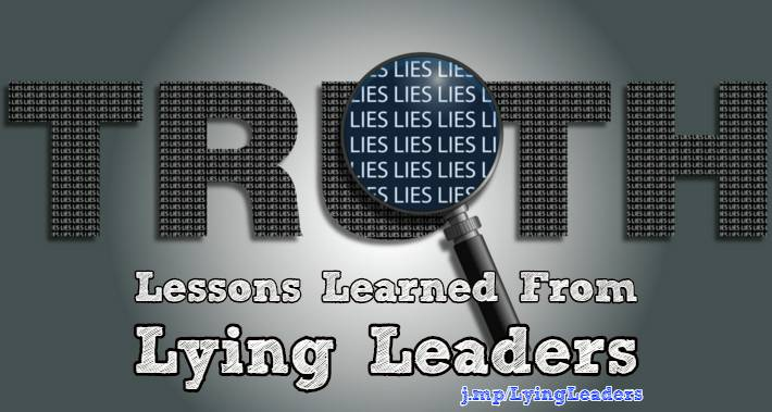 leaders who lie