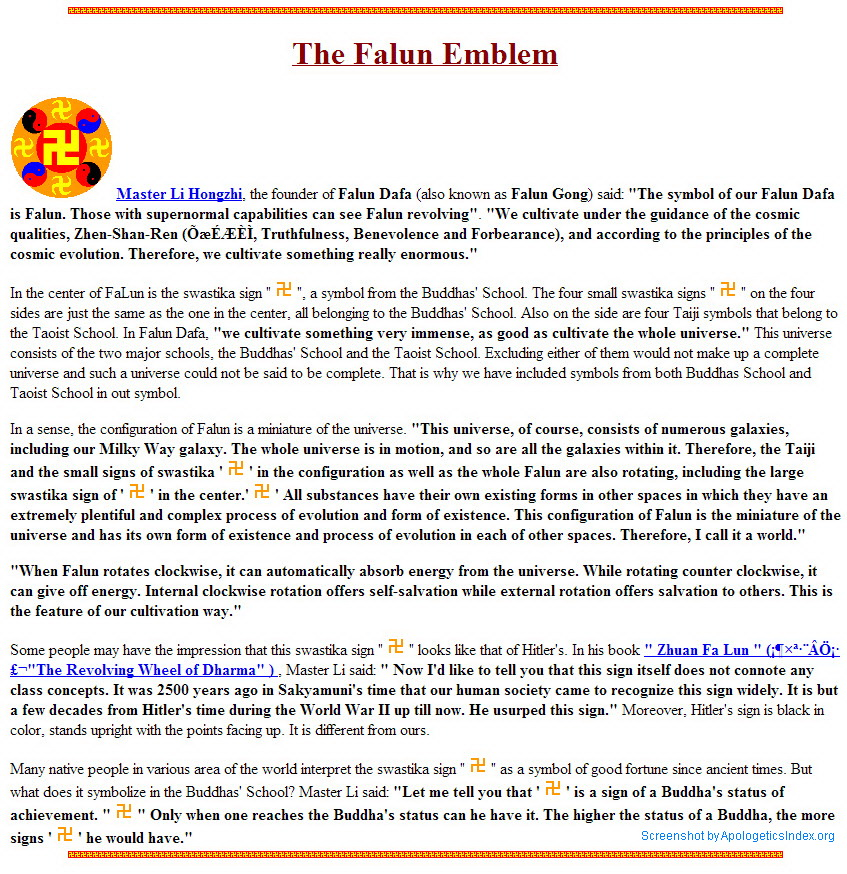 Falun gong homosexuality and christianity