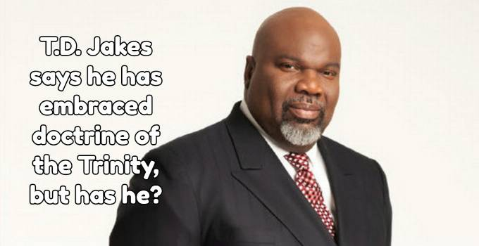 TD Jakes on the Trinity