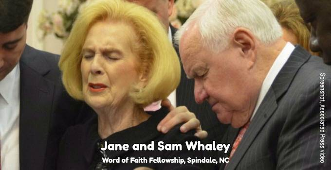 Jane and Sam Whaley