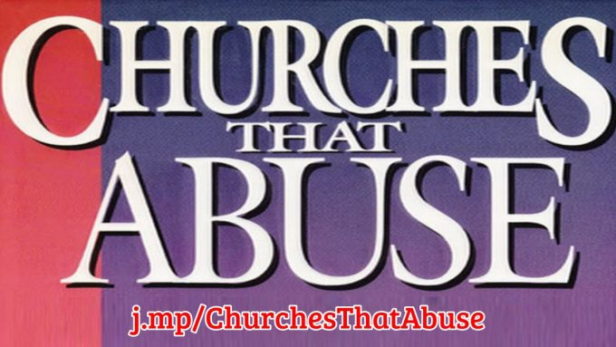 Partial cover of the book, Churches That Abuse
